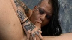 (new) Extreme Face Nailing And DP For Mallory Maneater Round 2