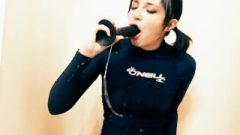 Nina Chrome – Marvelous Sticky Spit In Deep Throat (slow Motion Montage)